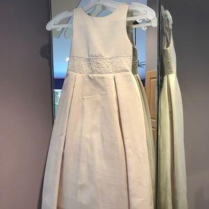 Sweet Beginnings flower girl dress tags attached